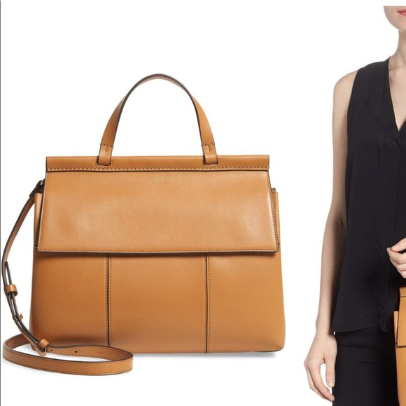 5b52d8b7d234 Tory Burch Block T leather top handle satchel. M 5b181b80aaa5b8be963e3850